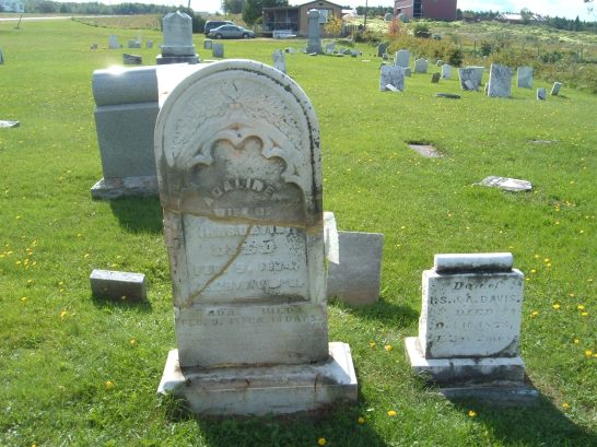 Cemetery Stone 001