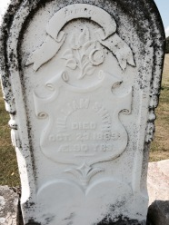 William Smith died Oct. 23, 1889 AE. 90 yrs.